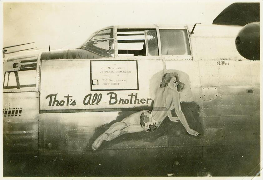 b25_nose_thats_all_brother